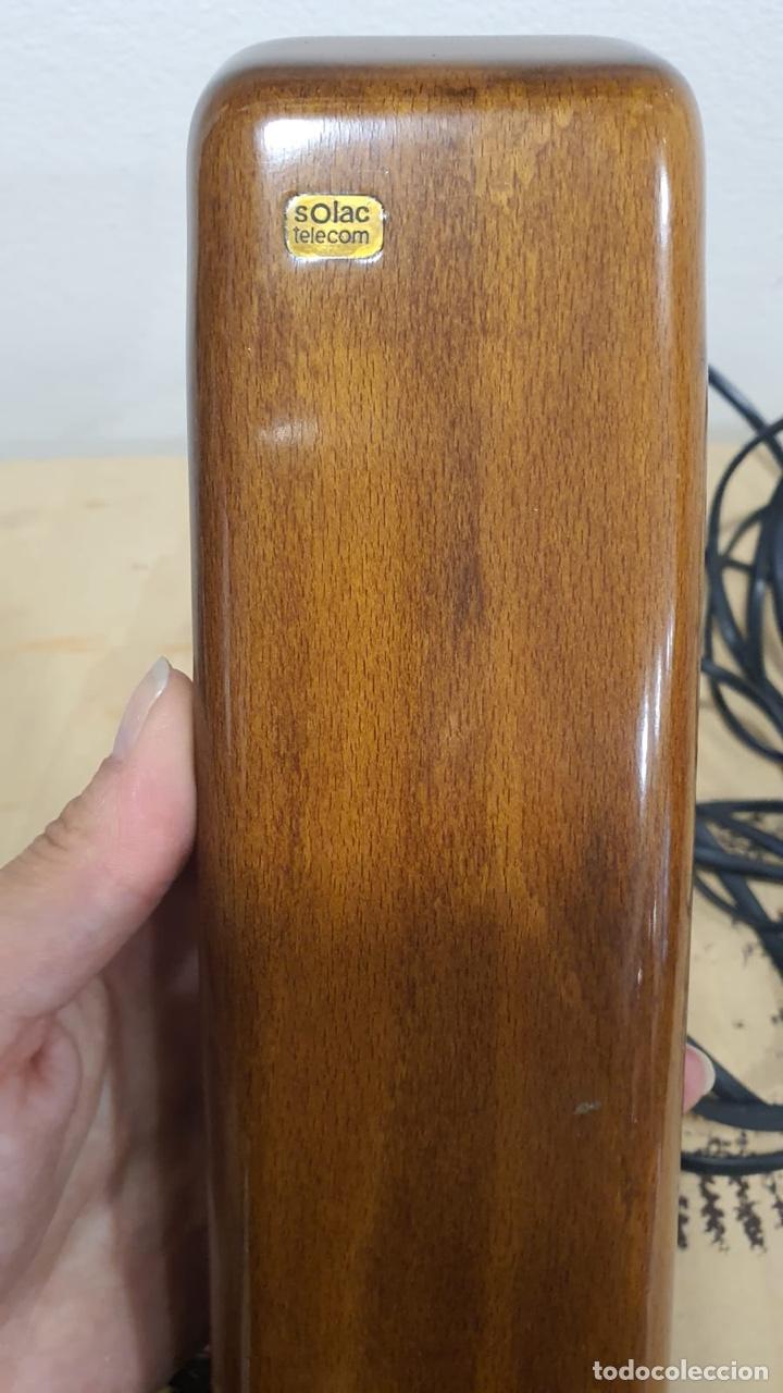 Teléfonos: Teléfono de madera solac - Foto 6 - 272303903