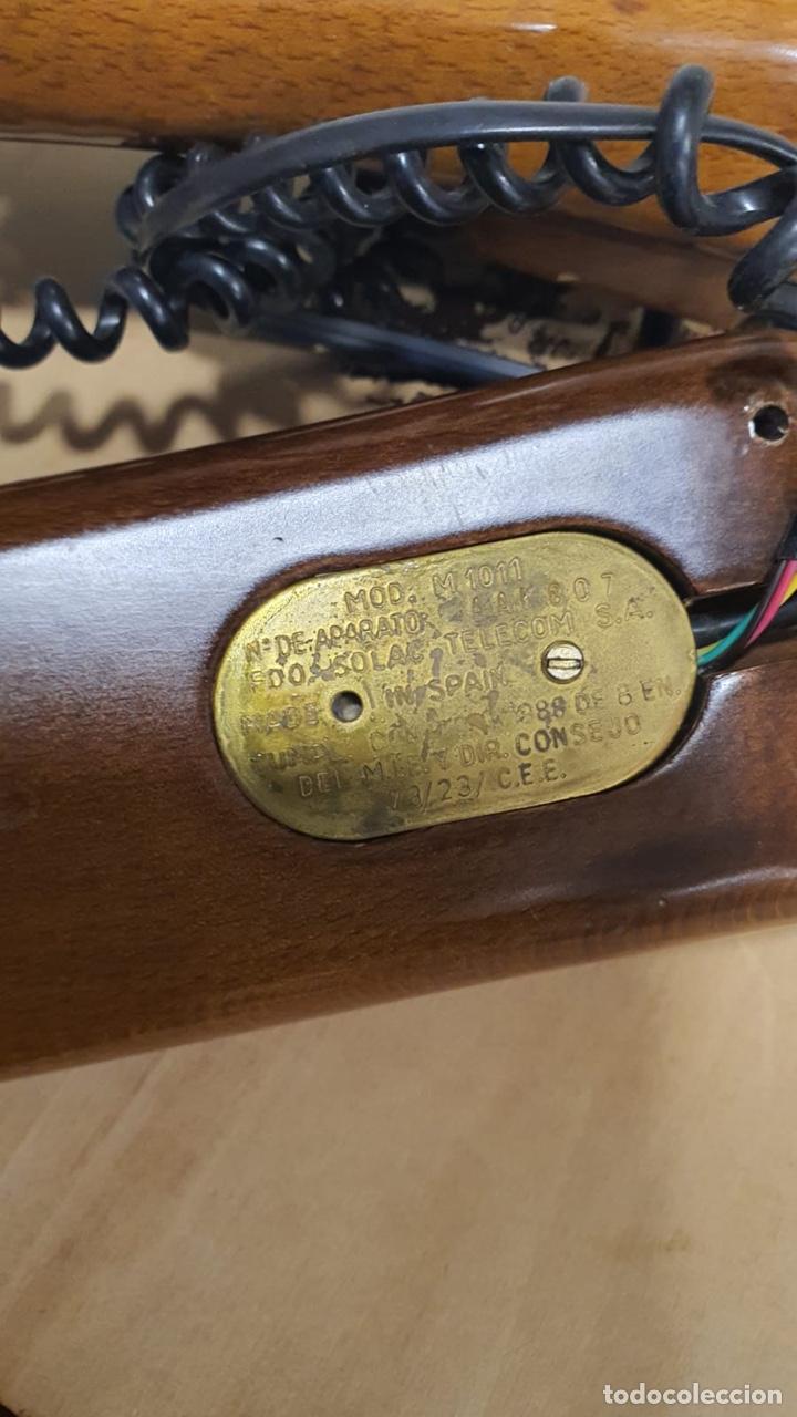 Teléfonos: Teléfono de madera solac - Foto 8 - 272303903