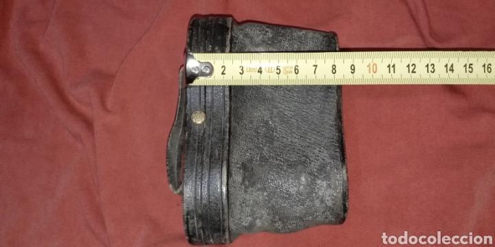 Antigüedades: FUNDAS (PAREJA) ANTIGUAS GEMELOS DE TEATRO. ÓPTICO CALLE DE ZARAGOZA 24 VALENCIA - Foto 12 - 272557758