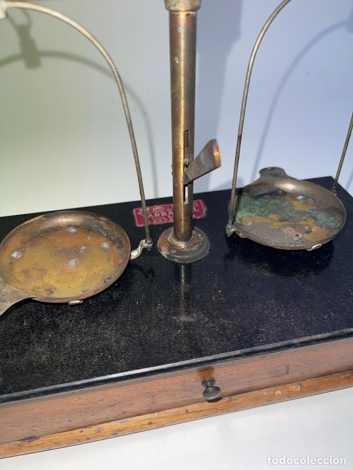 Antigüedades: BALANZA DESMONTABLE. PRINCIPIOS S.XX. - Foto 2 - 272680088