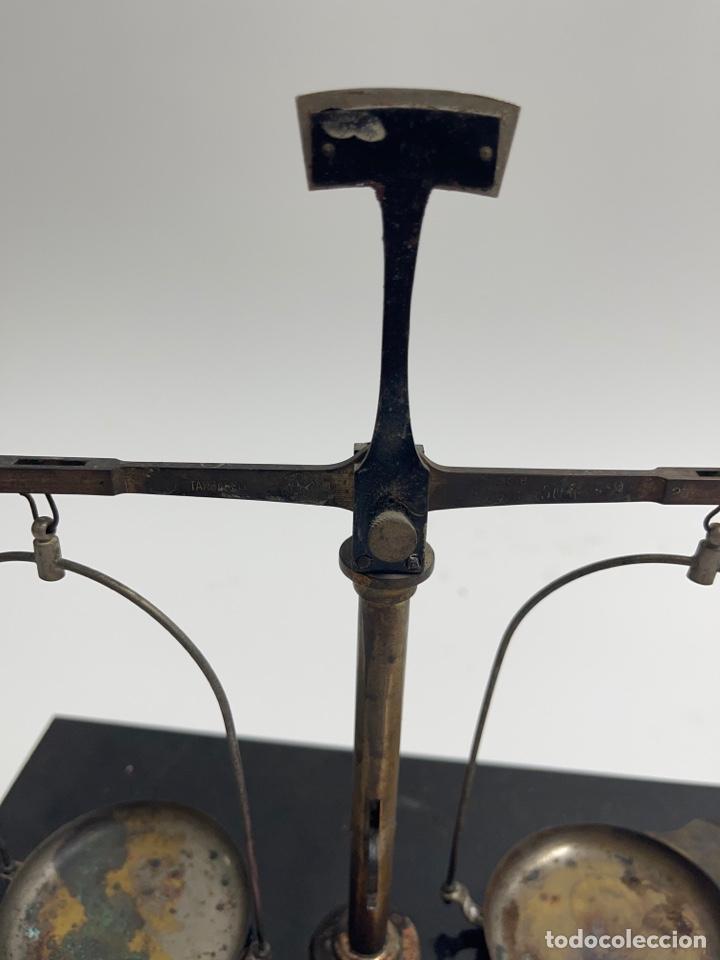 Antigüedades: BALANZA DESMONTABLE. PRINCIPIOS S.XX. - Foto 7 - 272680088