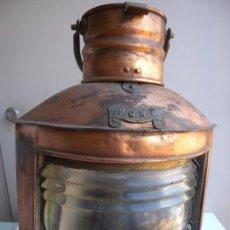 Antigüedades: FAROL DE BARCO ORIGINAL. Lote 273159133