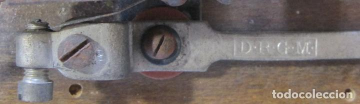 Antigüedades: ANTIGUO TIMBRE ELÉCTRICO DE BOBINA . MARCA D.R.G.M.. 18,5 X 10 X 4,5 CM. CAMPANA - Foto 3 - 273419543