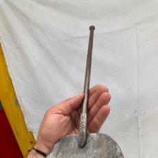 Antiquités: MUY ANTIGUA PALETA BRASERO,FORJA, MODELOS!. Lote 273602293
