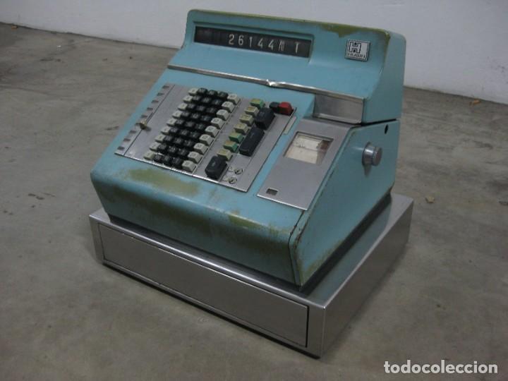 Antigüedades: Antigua caja registradora Hugin. - Foto 2 - 274004463