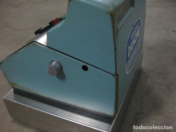 Antigüedades: Antigua caja registradora Hugin. - Foto 4 - 274004463