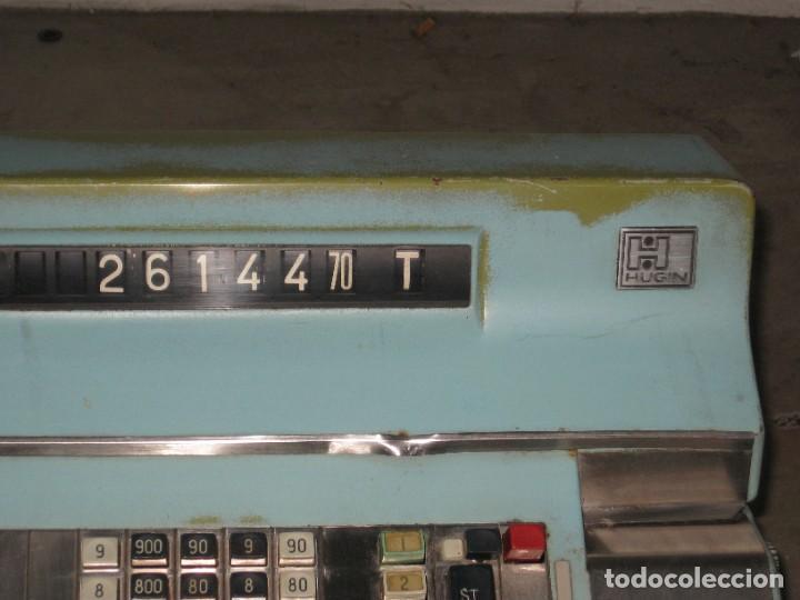 Antigüedades: Antigua caja registradora Hugin. - Foto 10 - 274004463