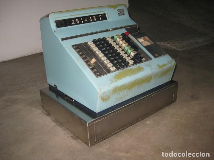 Antigüedades: Antigua caja registradora Hugin. - Foto 13 - 274004463