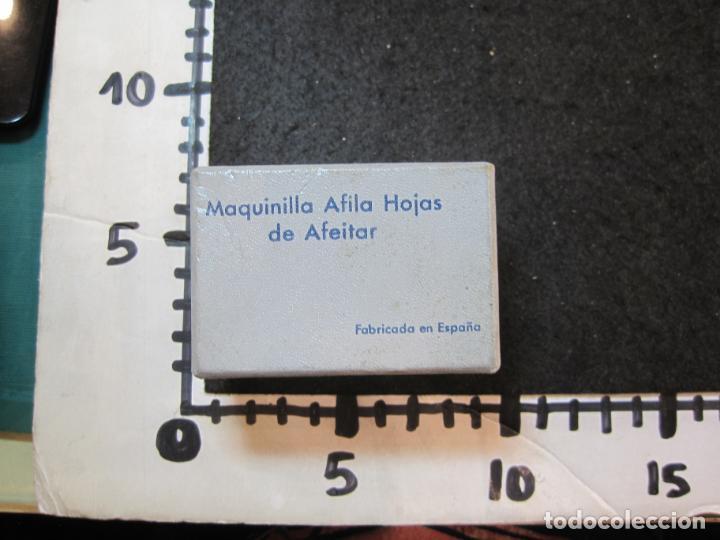 Antigüedades: MAQUINILLA AFILA HOJAS DE AFEITAR-MARCA RUPISA-VER FOTOS-(K-3644) - Foto 14 - 274271233