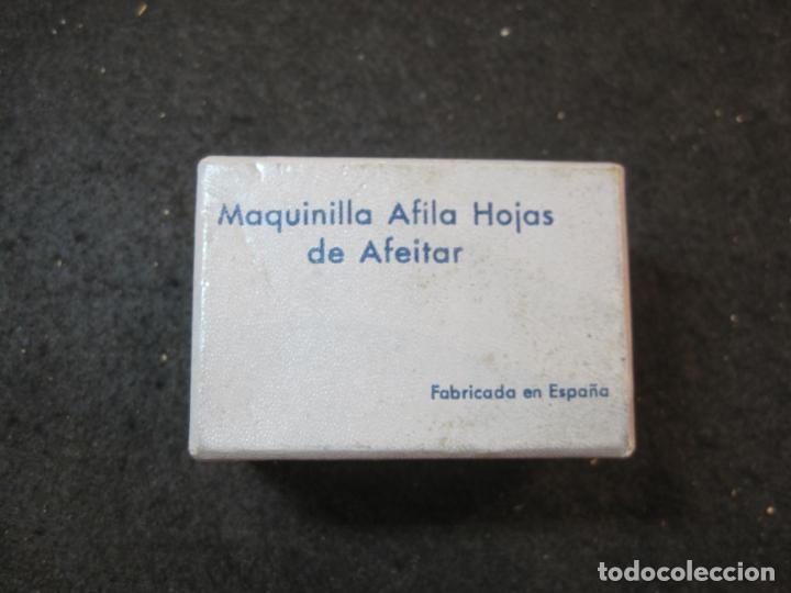 MAQUINILLA AFILA HOJAS DE AFEITAR-MARCA RUPISA-VER FOTOS-(K-3644) (Antigüedades - Técnicas - Barbería - Hojas de Afeitar Antiguas)