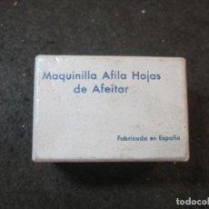 Antigüedades: MAQUINILLA AFILA HOJAS DE AFEITAR-MARCA RUPISA-VER FOTOS-(K-3644). Lote 274271233