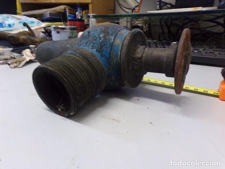 Antigüedades: gran grifo curioso mecanismo de bronce de antigua bodega de vino - Foto 4 - 274338948