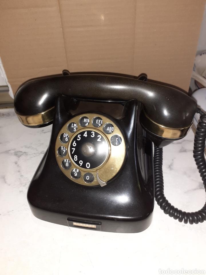 ANTIGUO TELEFONO DE BAKELITA, MUY BUEN ESTADO.. (Antigüedades - Técnicas - Teléfonos Antiguos)
