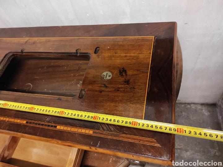 Antigüedades: Sobre máquina de coser con cajones KÖHLER - Foto 8 - 274430308