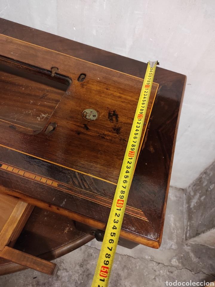 Antigüedades: Sobre máquina de coser con cajones KÖHLER - Foto 9 - 274430308