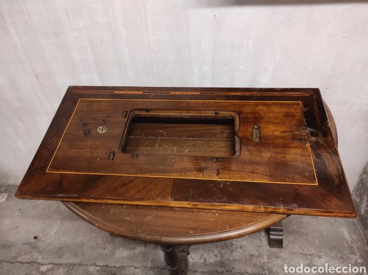Antigüedades: Sobre máquina de coser con cajones KÖHLER - Foto 14 - 274430308