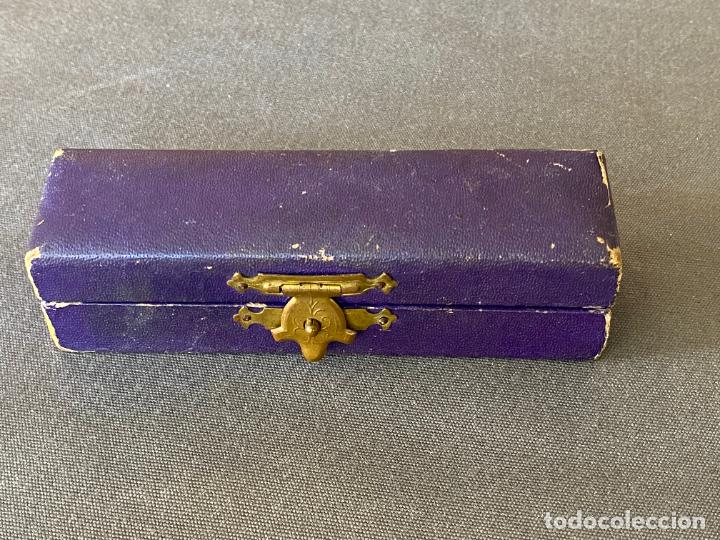 Antigüedades: AGUJA DE COSER PARA MAQUINA DE REPARAR MEDIAS , SUPER M.C.D. EN CAJA - Foto 7 - 274541323