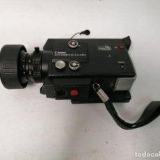 Antigüedades: CAMARA VIDEO TOMAVISTAS SUPER 8 MM CANON 512 XL. AUTOZOOM ELECTRONIC. Lote 274557893
