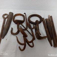 Antiquités: LOTE VARIAS ANTIGUEDADES DE FORJA. Lote 274665043