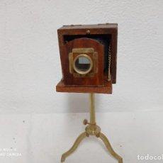 Antiquités: REPLICA DE ANTIGUA CÁMARA DE FOTOS. Lote 274734943