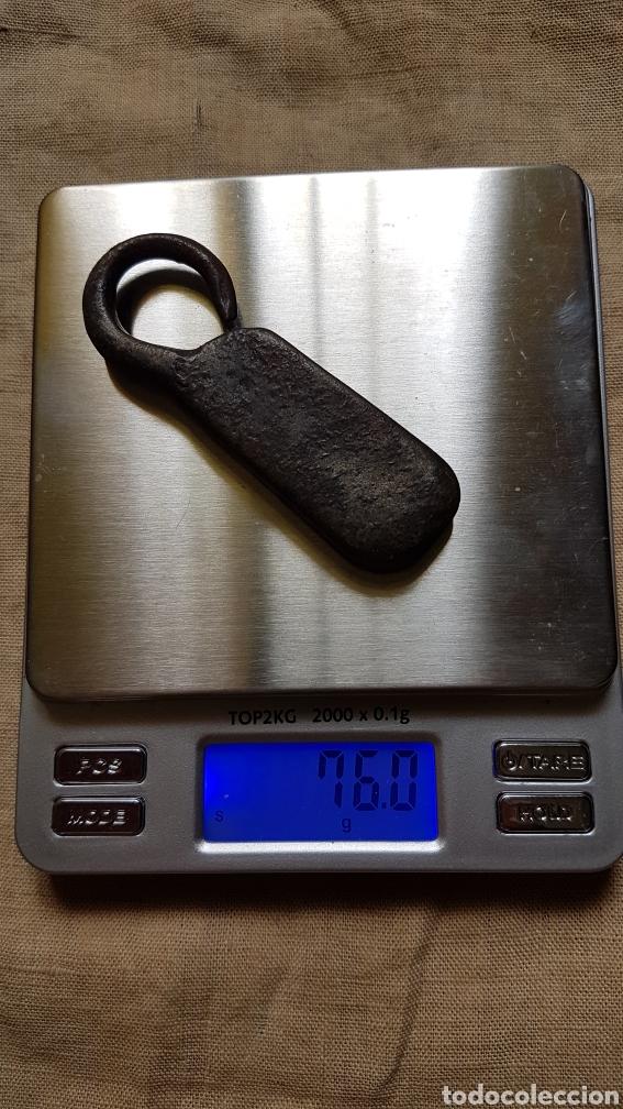 Antigüedades: Antiguo ponderal peso romana 76 gramos - Foto 3 - 274855823