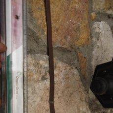 Antigüedades: ANTIGUA RASERA DE FORJA. Lote 274888958