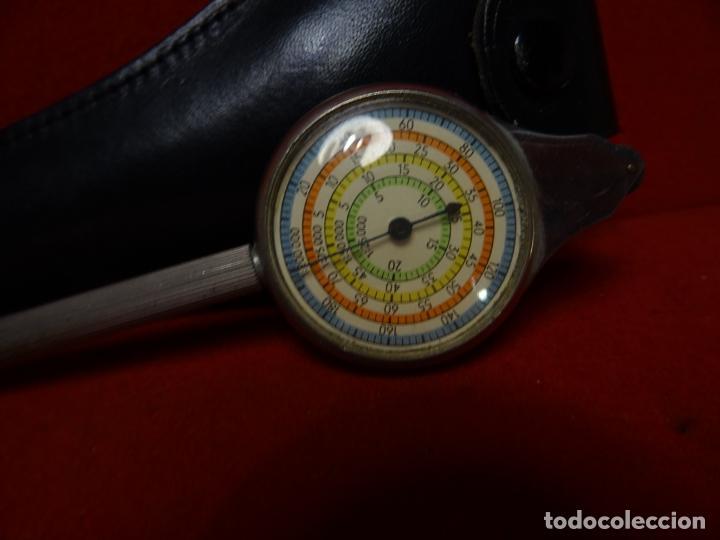 Antigüedades: Antiguo aparato para medir curvas. Curvímetro aleman - Foto 2 - 275070108