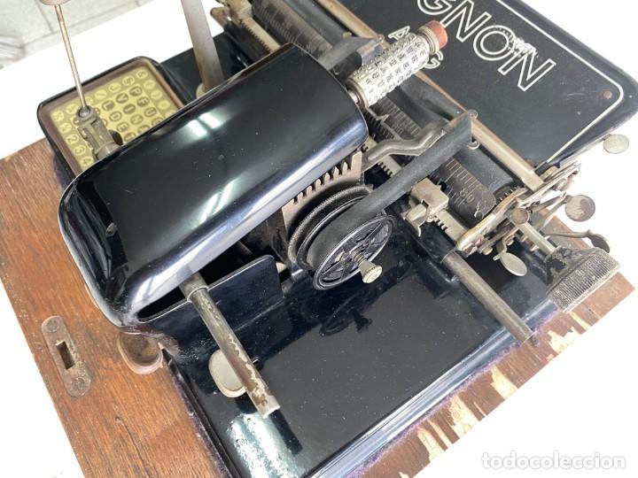"""Antigüedades: maquina de escribir MIGNON """"AEG"""" - Foto 8 - 275132878"""
