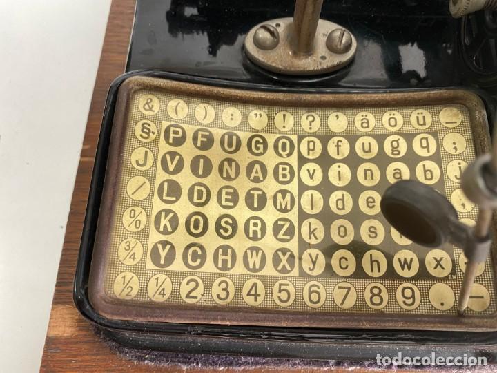 """Antigüedades: maquina de escribir MIGNON """"AEG"""" - Foto 10 - 275132878"""