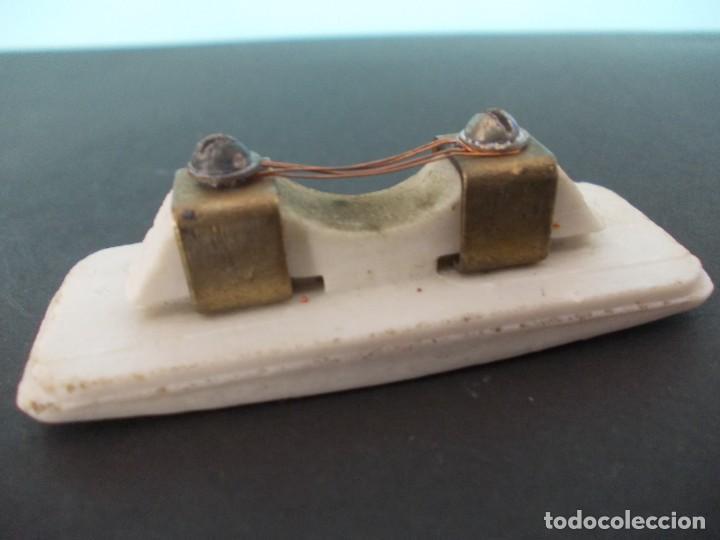 Antigüedades: Caja de fusible Cerámico BJC 5 A 250 V - Foto 11 - 275149138