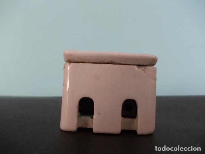Antigüedades: Caja de fusible Cerámico BJC 5 A 250 V - Foto 15 - 275149138