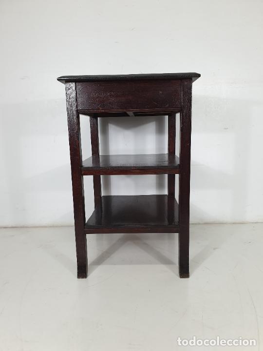 Antigüedades: Maquina de Escribir - Marca Royal - con Tapa de Madera y Mesa - Principios S. XX - Foto 14 - 275182868