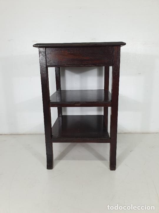 Antigüedades: Maquina de Escribir - Marca Royal - con Tapa de Madera y Mesa - Principios S. XX - Foto 15 - 275182868