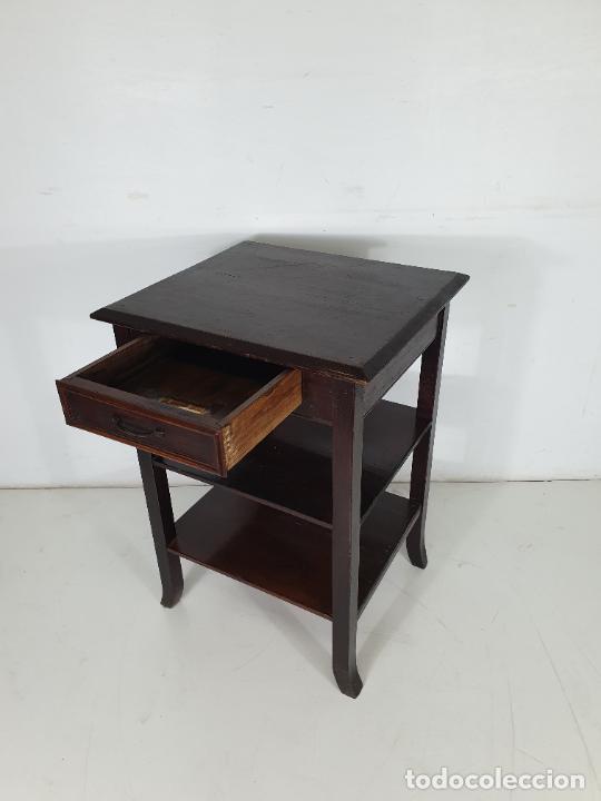 Antigüedades: Maquina de Escribir - Marca Royal - con Tapa de Madera y Mesa - Principios S. XX - Foto 16 - 275182868