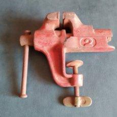 Antigüedades: TORNILLO DE MESA ELMA N.2. MORDAZA. Lote 275213023
