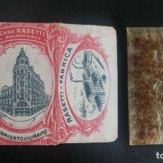 Antigüedades: HOJA DE AFEITAR - CUCHILLA DE AFEITAR - CASA RASETTI - NUEVA CON SU HOJA. Lote 275696803