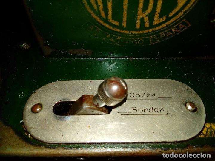 Antigüedades: maquina de coser REFREY - Foto 5 - 275712533