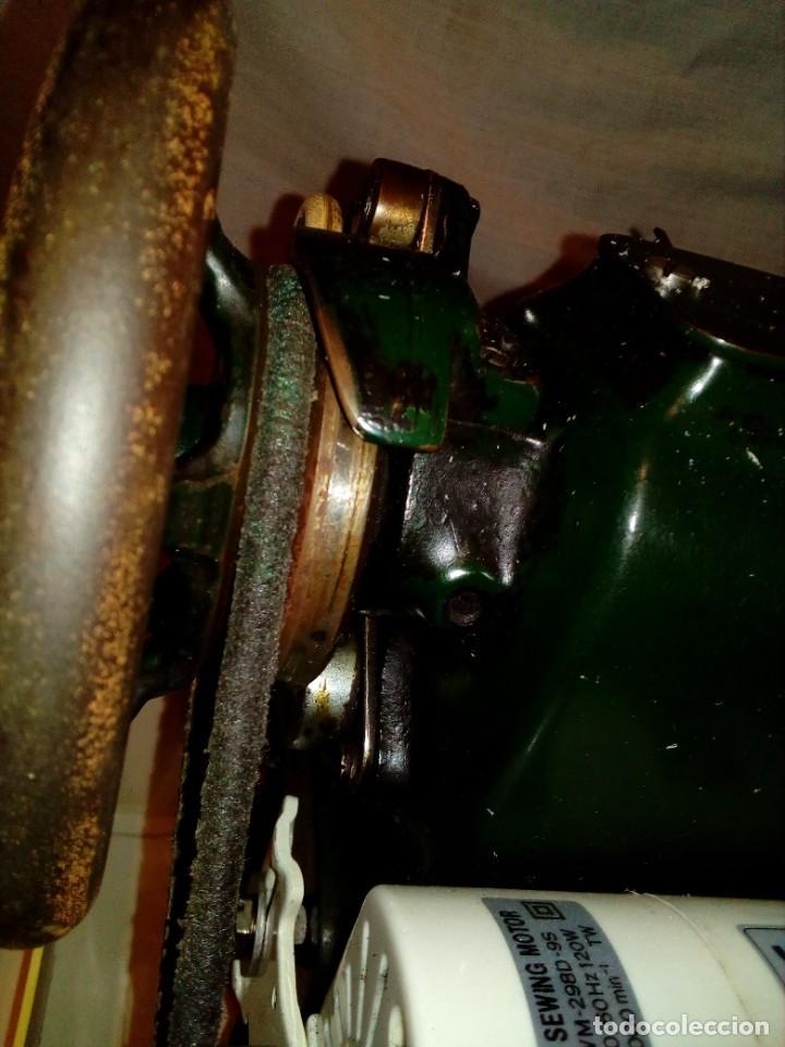 Antigüedades: maquina de coser REFREY - Foto 10 - 275712533