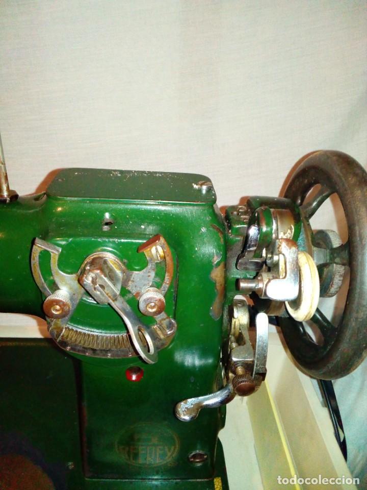Antigüedades: maquina de coser REFREY - Foto 13 - 275712533