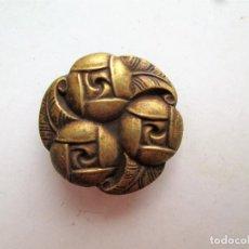 Antigüedades: EMBELLECEDOR DE LATON PARA RESTAURAR MUEBLE ANTIGUO – MOTIVO CELTA. Lote 275929188
