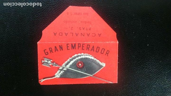HOJA DE AFEITAR - CUCHILLA DE AFEITAR - GRAN EMPERADOR - SOLO LA FUNDA (Antigüedades - Técnicas - Barbería - Hojas de Afeitar Antiguas)