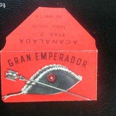 Antigüedades: HOJA DE AFEITAR - CUCHILLA DE AFEITAR - GRAN EMPERADOR - SOLO LA FUNDA. Lote 276119133
