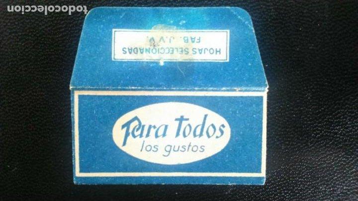 HOJA DE AFEITAR - CUCHILLA DE AFEITAR - PARA TODOS LOS GUSTOS - SOLO LA FUNDA (Antigüedades - Técnicas - Barbería - Hojas de Afeitar Antiguas)