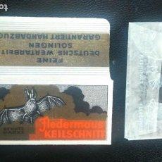 Antigüedades: HOJA DE AFEITAR - CUCHILLA DE AFEITAR - FLEDERMAUS - NUEVA CON SU HOJA. Lote 276127833