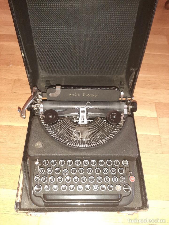 Antigüedades: Máquina de escribir smith premier - Foto 7 - 276135973