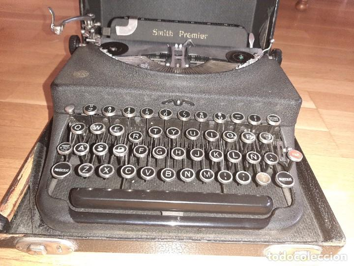Antigüedades: Máquina de escribir smith premier - Foto 2 - 276135973