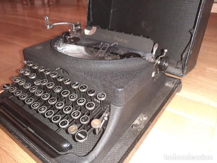 MÁQUINA DE ESCRIBIR SMITH PREMIER (Antigüedades - Técnicas - Máquinas de Escribir Antiguas - Smith)