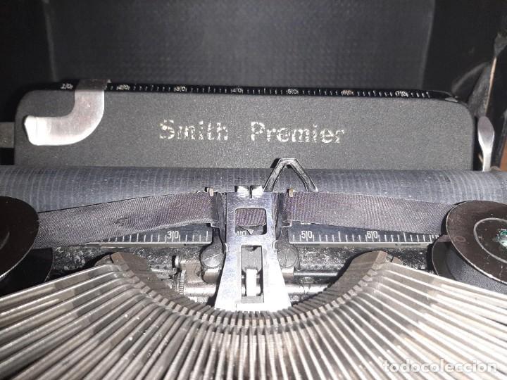 Antigüedades: Máquina de escribir smith premier - Foto 3 - 276135973
