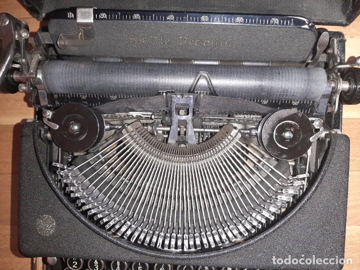 Antigüedades: Máquina de escribir smith premier - Foto 4 - 276135973