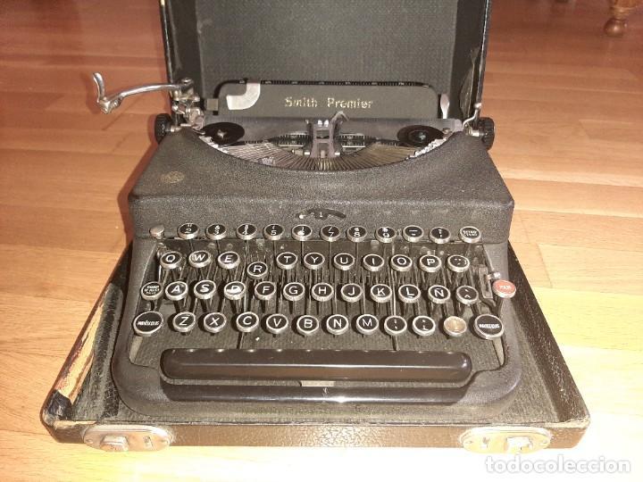Antigüedades: Máquina de escribir smith premier - Foto 5 - 276135973